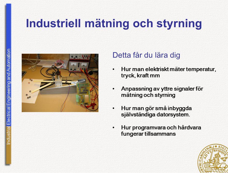 Industriell mätning och styrning