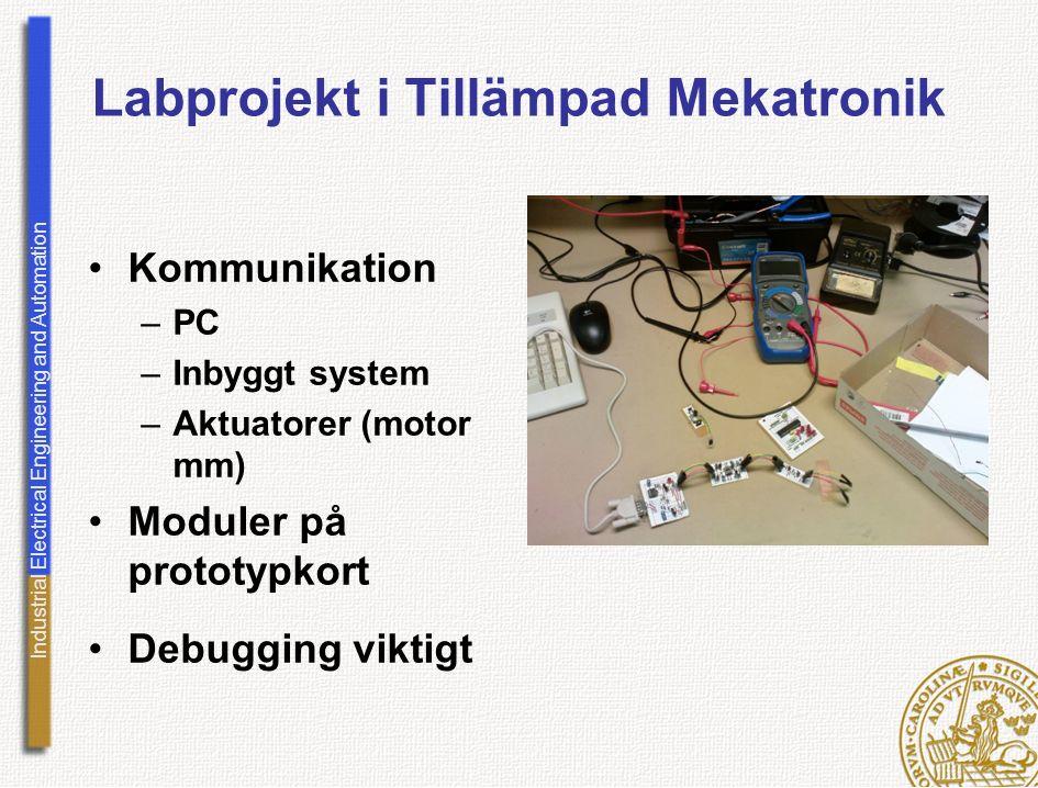 Labprojekt i Tillämpad Mekatronik