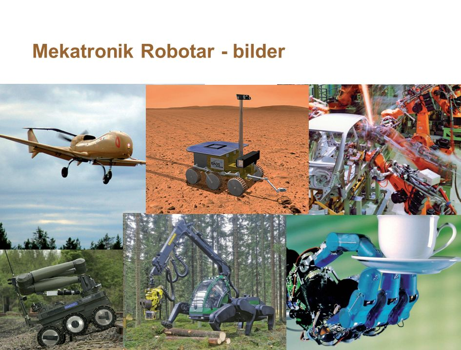 Mekatronik Robotar - bilder