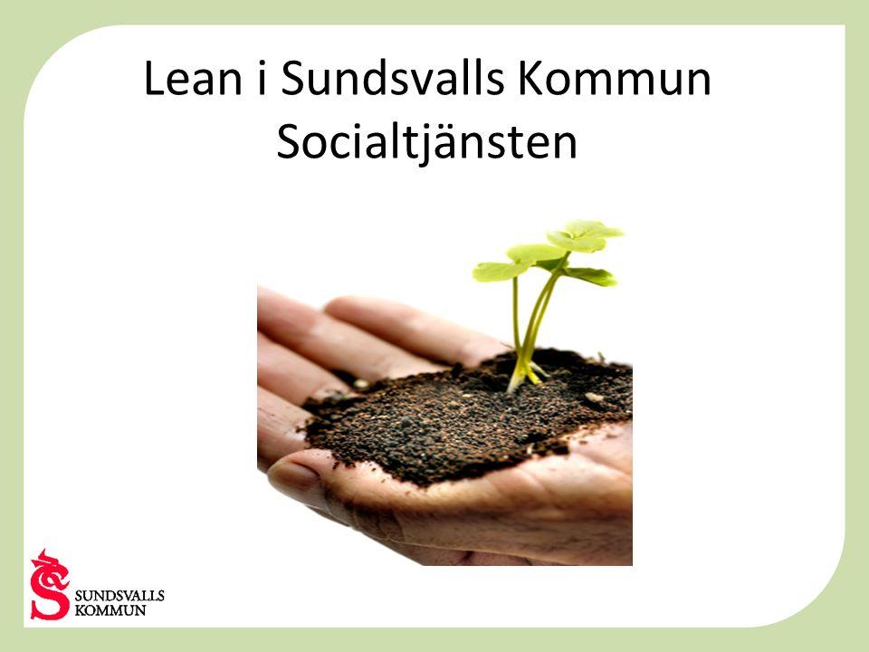 Lean i Sundsvalls Kommun Socialtjänsten