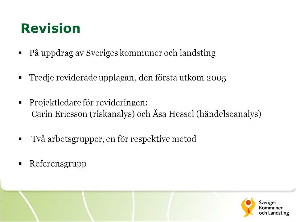 Revision På uppdrag av Sveriges kommuner och landsting