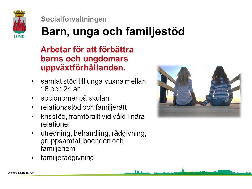 Socialförvaltningen Barn, unga och familjestöd