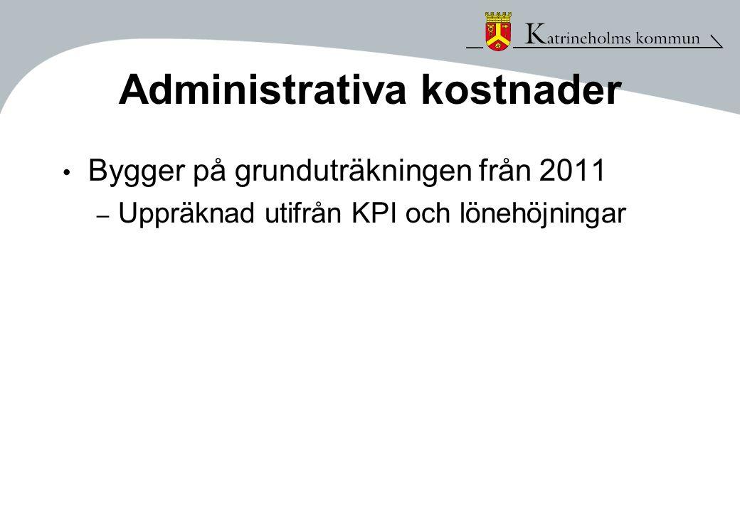 Administrativa kostnader