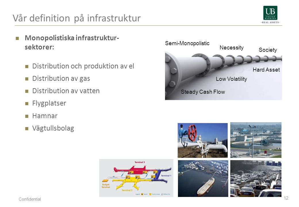 Vår definition på infrastruktur
