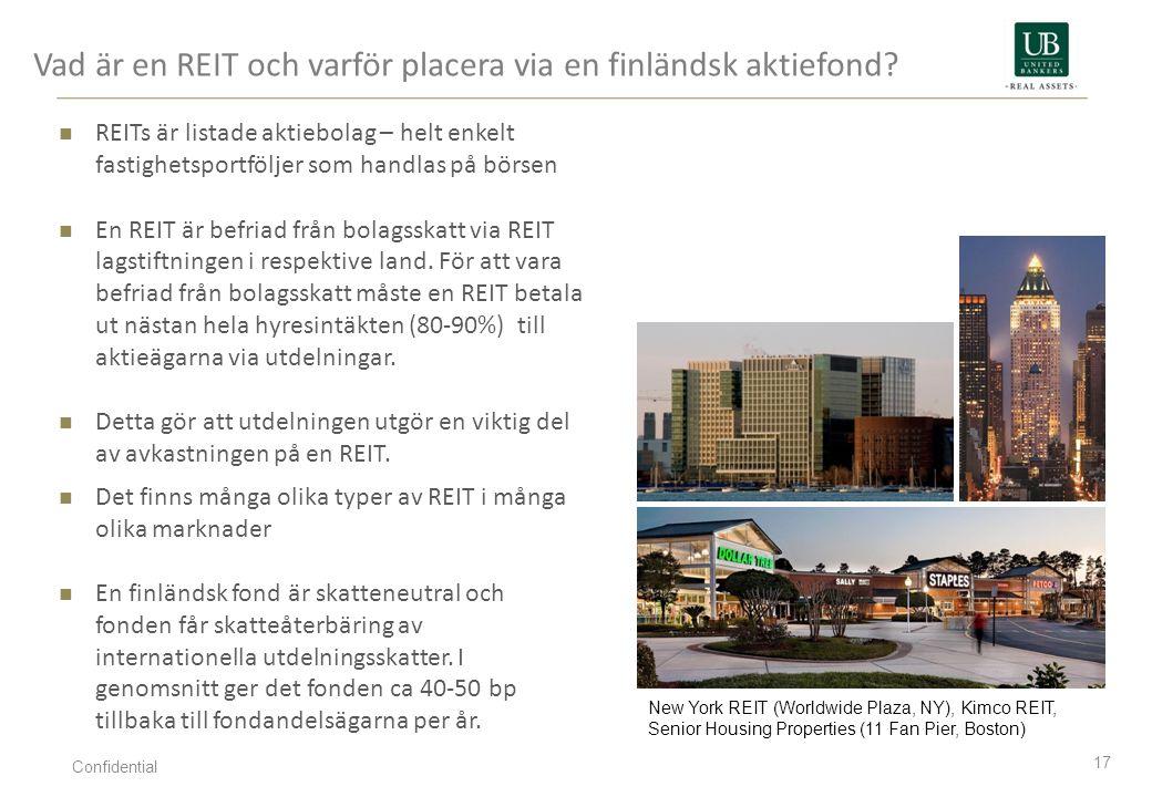 Vad är en REIT och varför placera via en finländsk aktiefond
