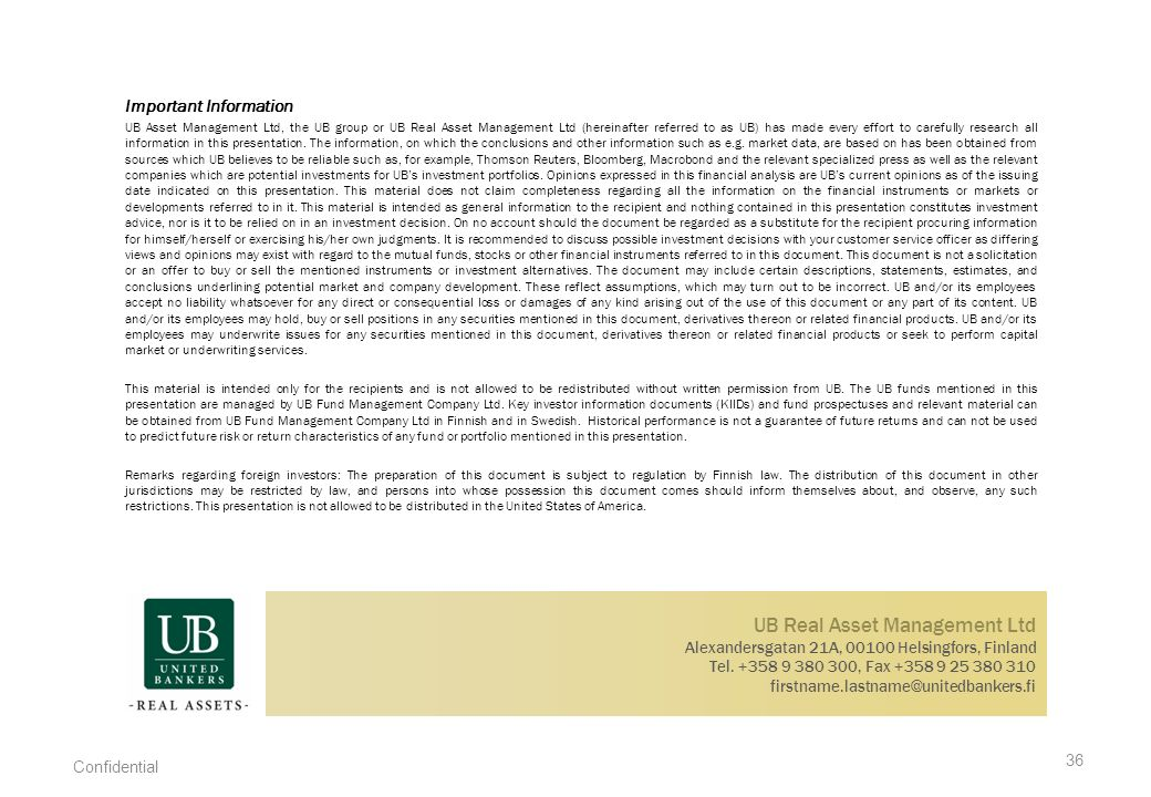UB Real Asset Management Ltd