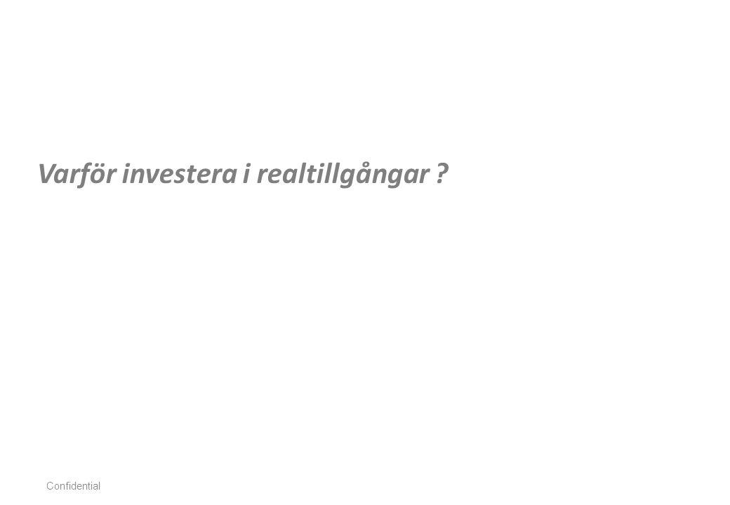 Varför investera i realtillgångar