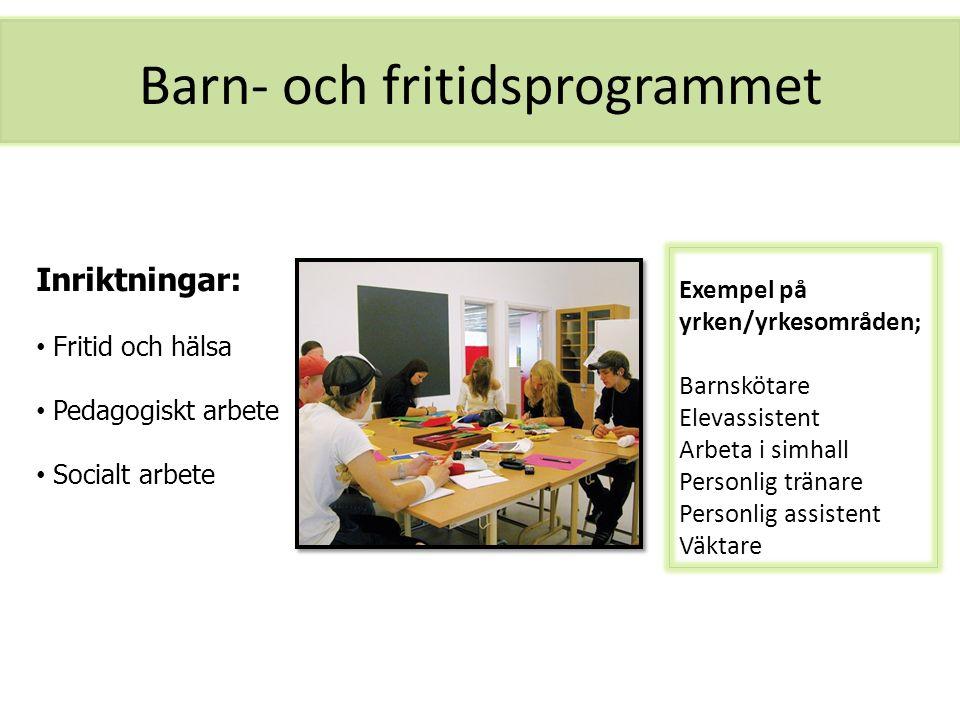 Barn- och fritidsprogrammet