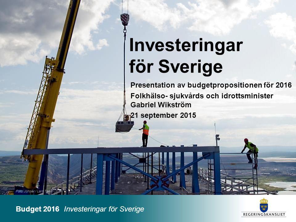 Investeringar för Sverige