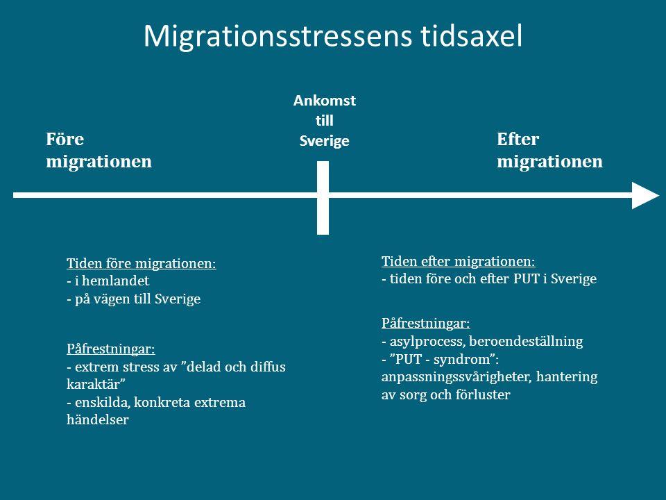 Migrationsstressens tidsaxel