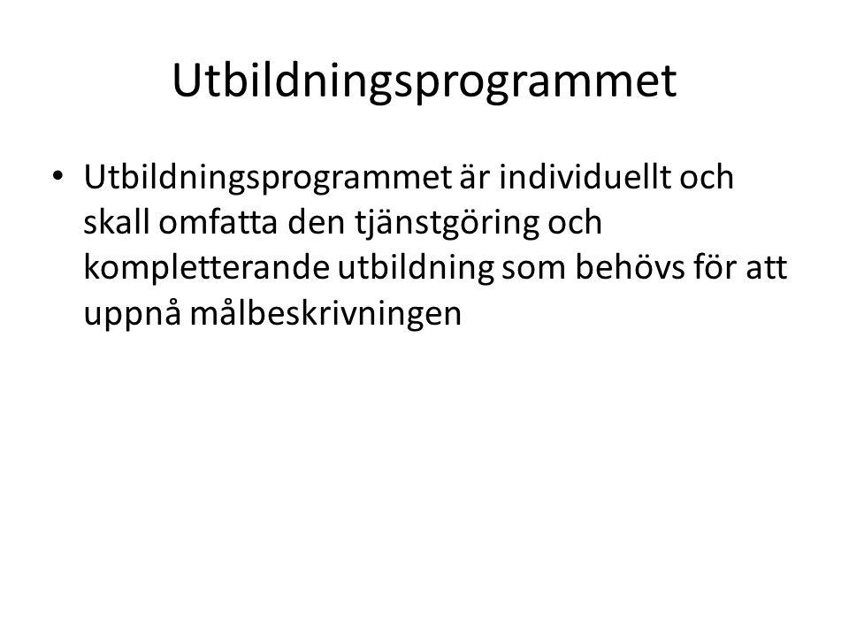 Utbildningsprogrammet