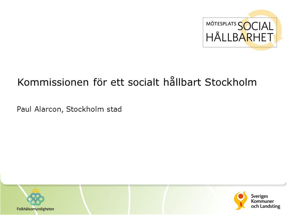 Kommissionen för ett socialt hållbart Stockholm