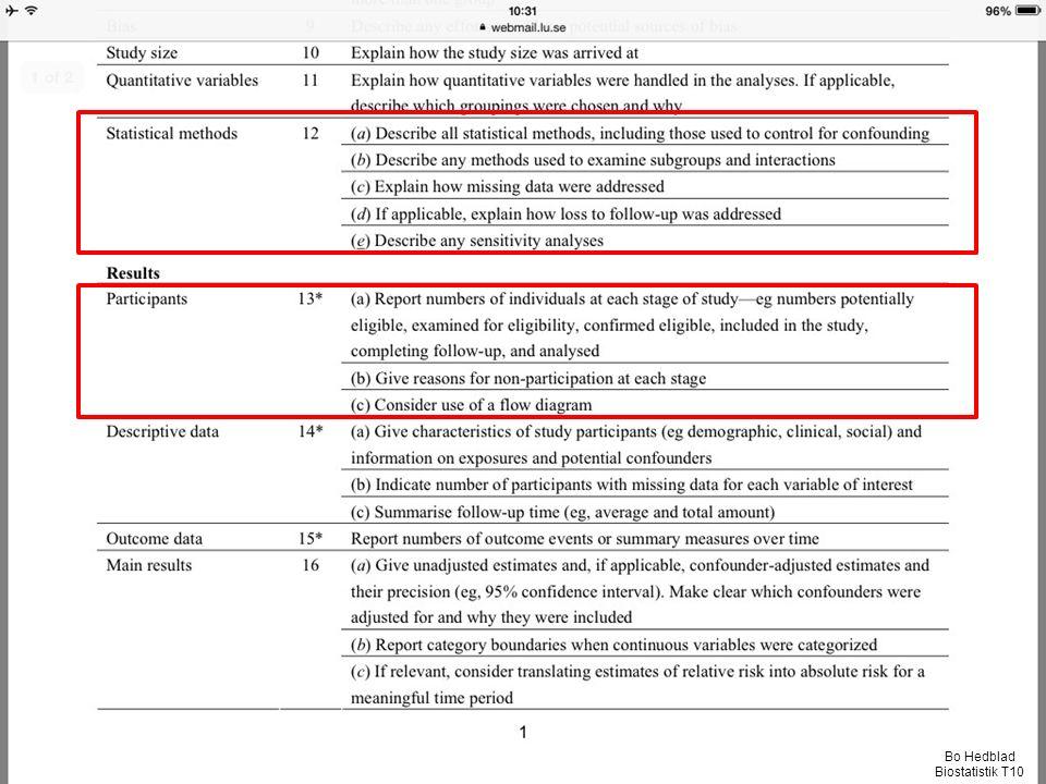 Bo Hedblad Biostatistik T10