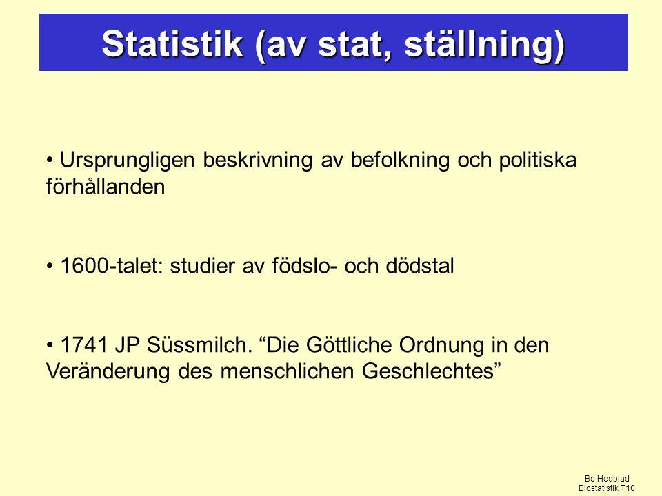 Statistik (av stat, ställning)