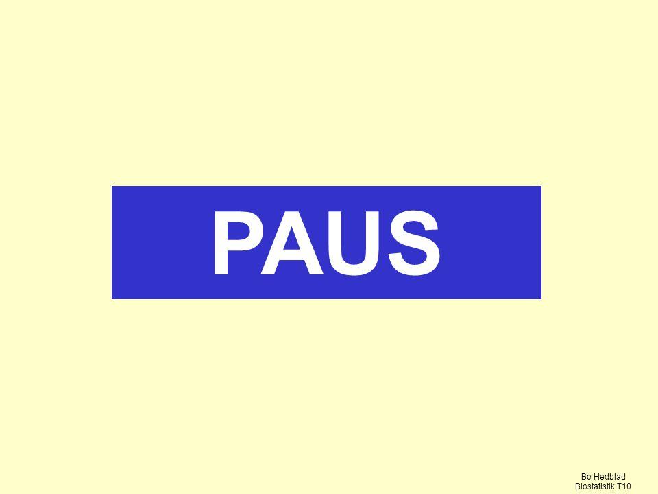PAUS Bo Hedblad Biostatistik T10
