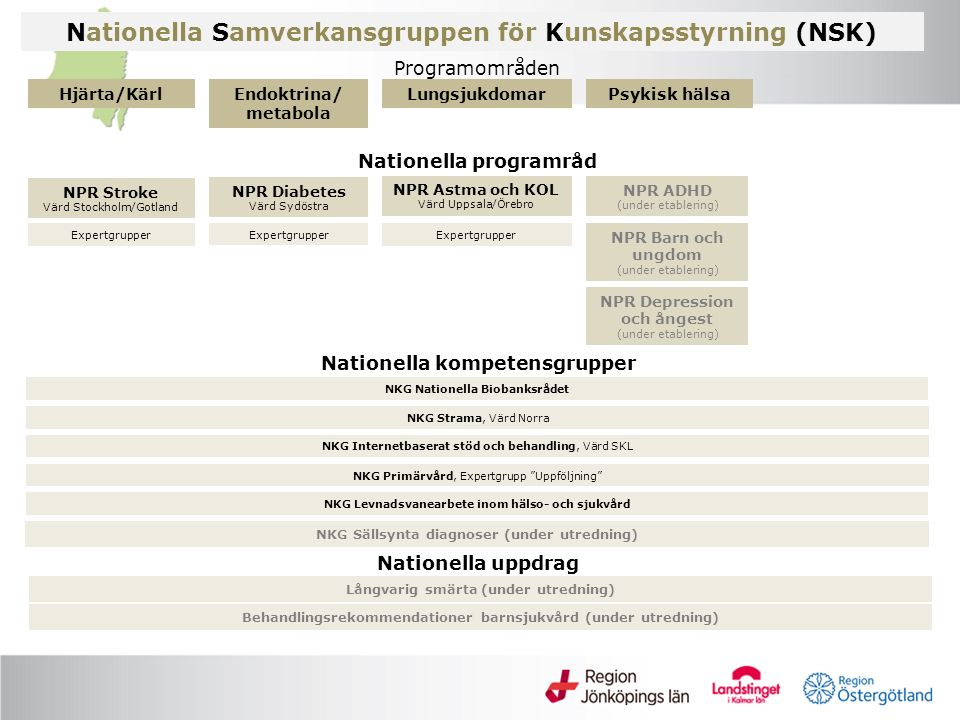Nationella Samverkansgruppen för Kunskapsstyrning (NSK)
