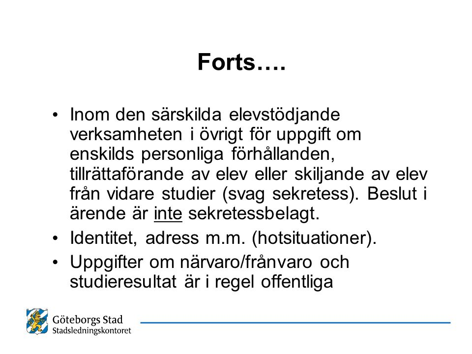 Forts….