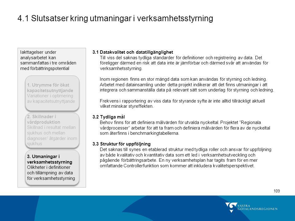 4.1 Slutsatser kring utmaningar i verksamhetsstyrning