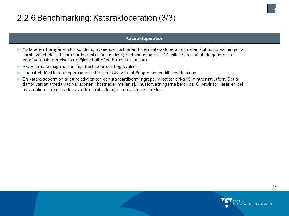 2.2.6 Benchmarking: Kataraktoperation (3/3)