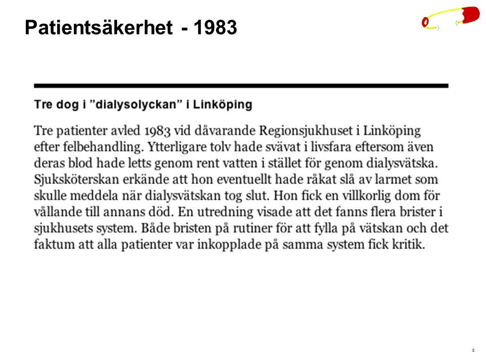 Patientsäkerhet - 1983 8