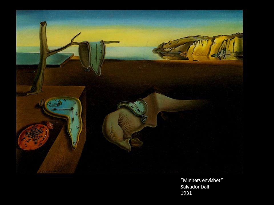 Minnets envishet Salvador Dalí 1931