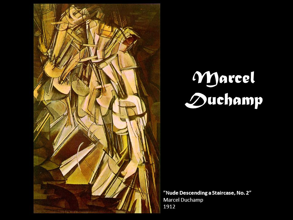 Marcel Duchamp Nude Descending a Staircase, No. 2 Marcel Duchamp