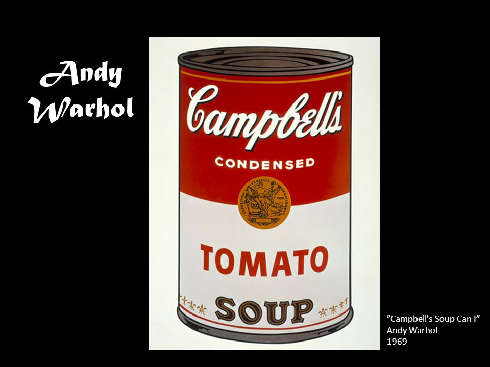 Andy Warhol Campbell s Soup Can I Andy Warhol 1969