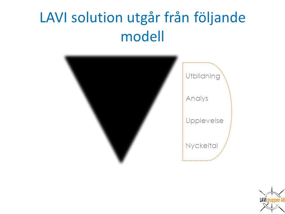LAVI solution utgår från följande modell