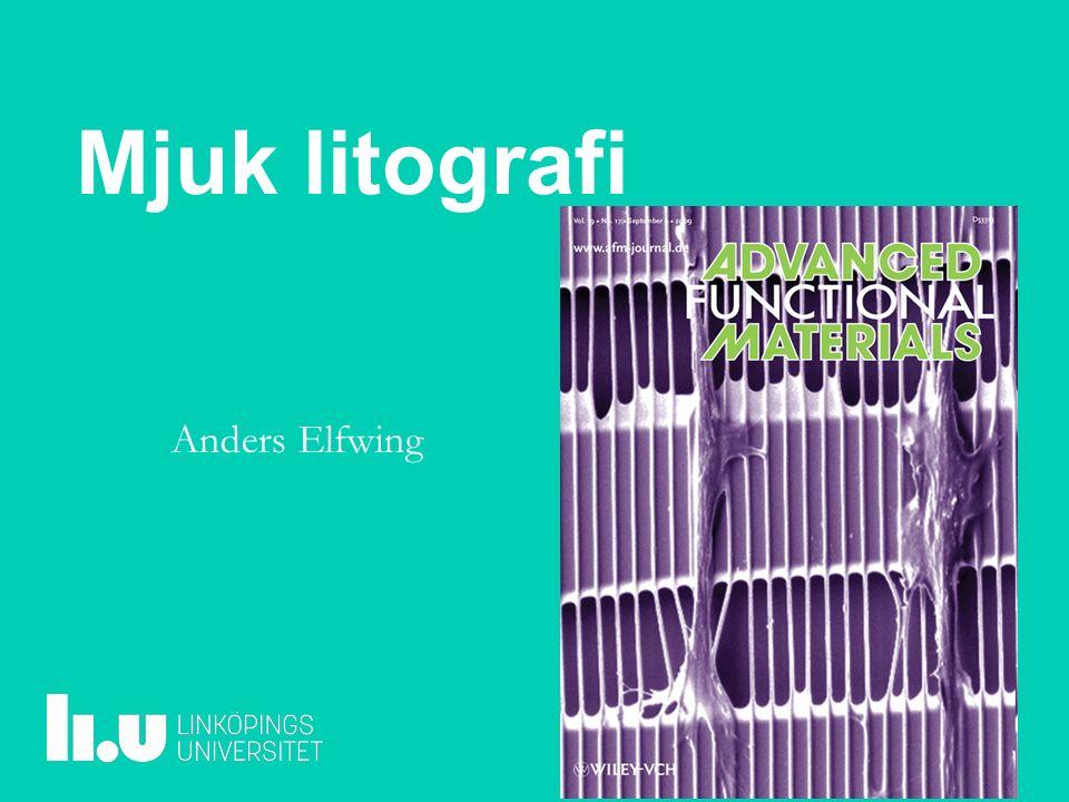 Mjuk litografi Anders Elfwing