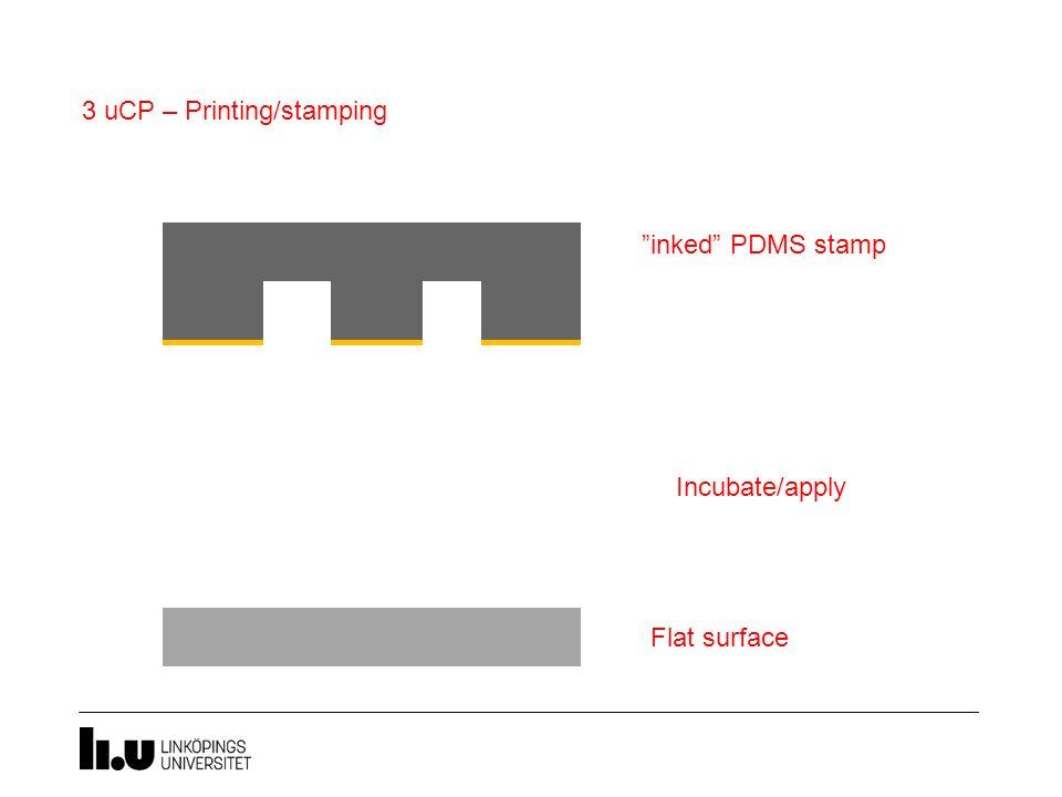 3 uCP – Printing/stamping