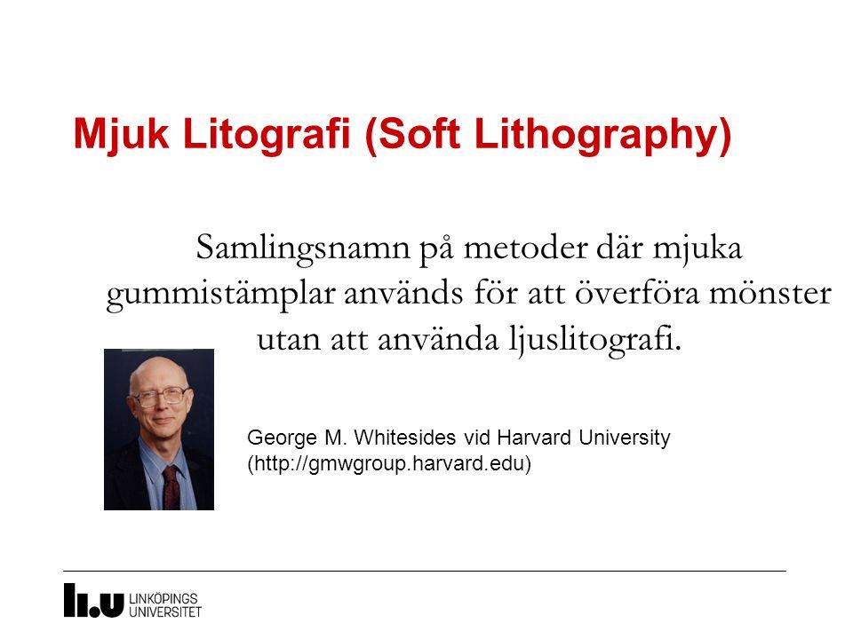 Mjuk Litografi (Soft Lithography)