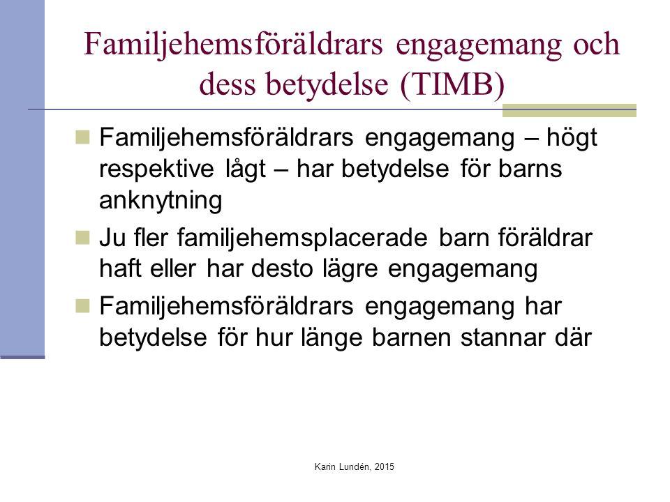 Familjehemsföräldrars engagemang och dess betydelse (TIMB)
