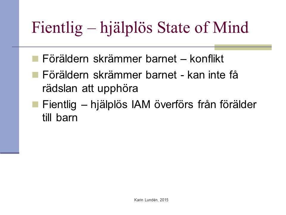 Fientlig – hjälplös State of Mind