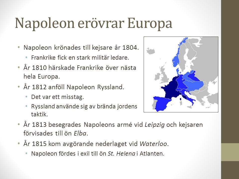 Napoleon erövrar Europa