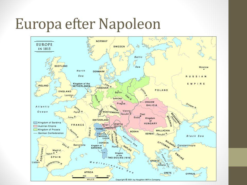 Europa efter Napoleon