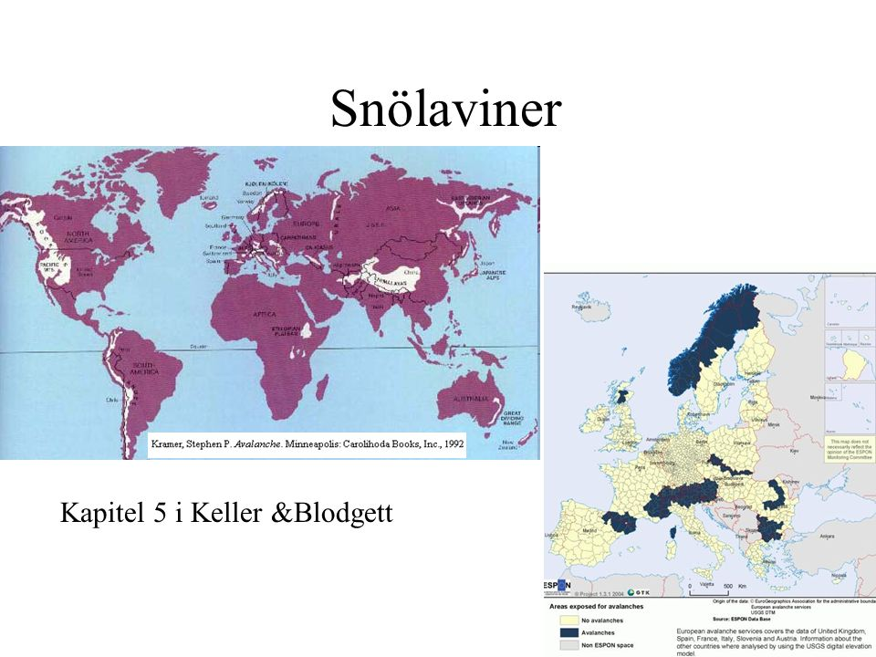 Snölaviner Kapitel 5 i Keller &Blodgett
