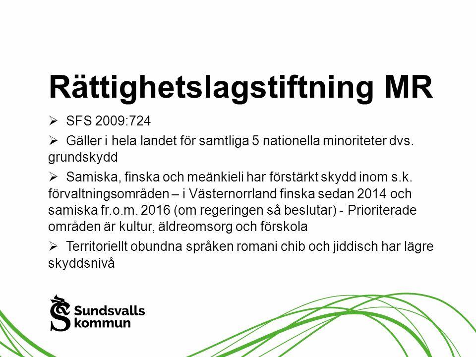 Rättighetslagstiftning MR