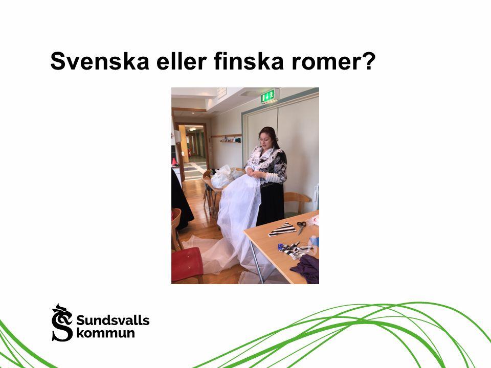 Svenska eller finska romer