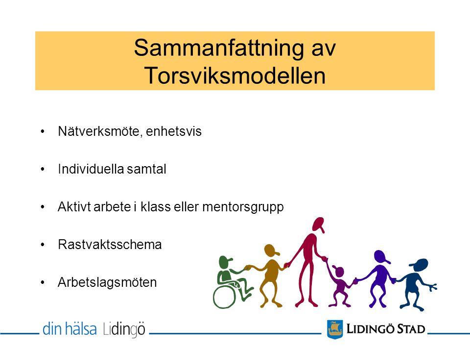 Sammanfattning av Torsviksmodellen