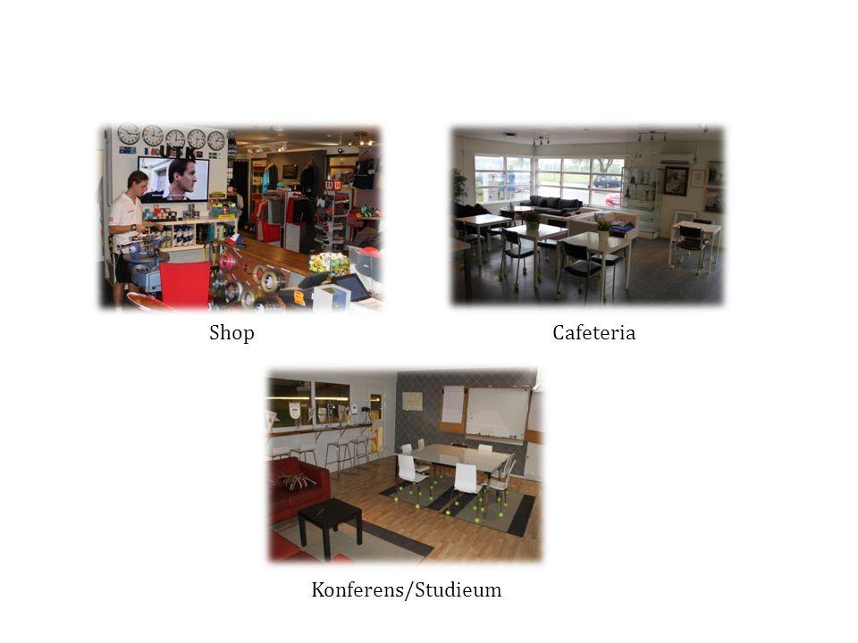 Shop Cafeteria Konferens/Studieum