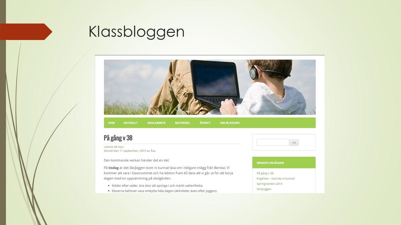 Klassbloggen