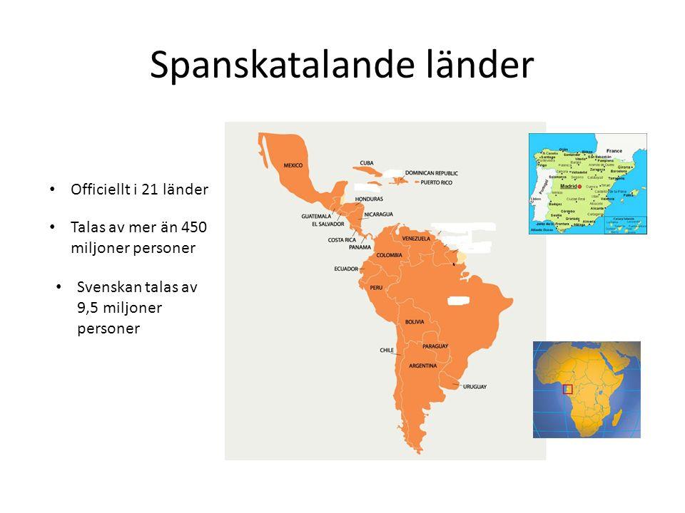 Spanskatalande länder
