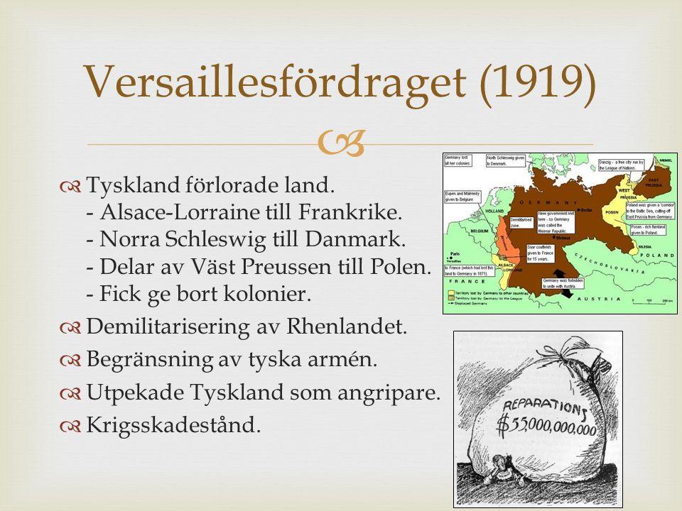 Versaillesfördraget (1919)