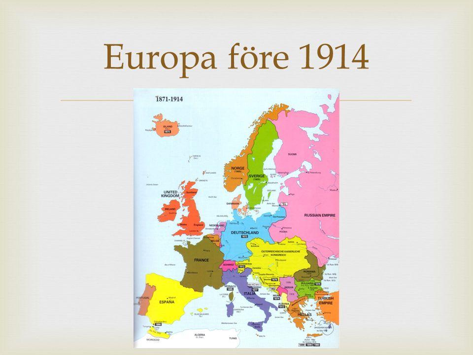 Europa före 1914