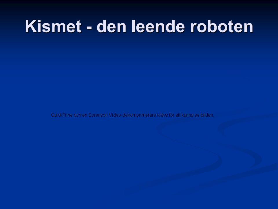 Kismet - den leende roboten