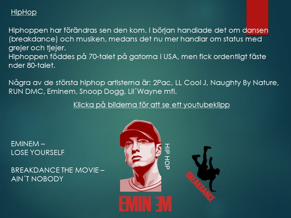 EMIN M E BREAKDANCE HipHop