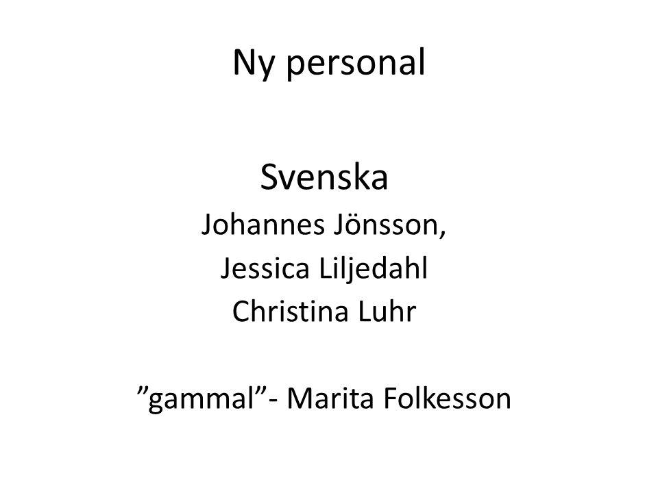 gammal - Marita Folkesson