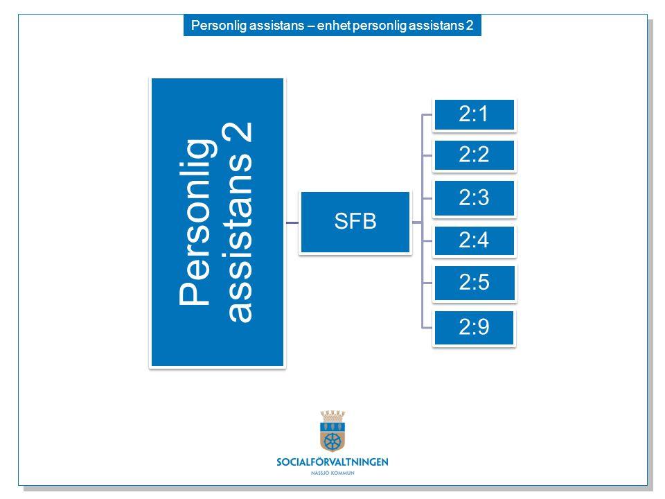 Personlig assistans – enhet personlig assistans 2