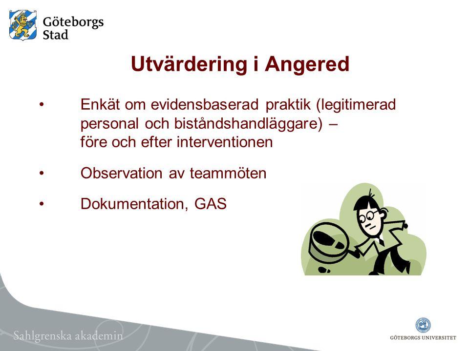 Utvärdering i Angered