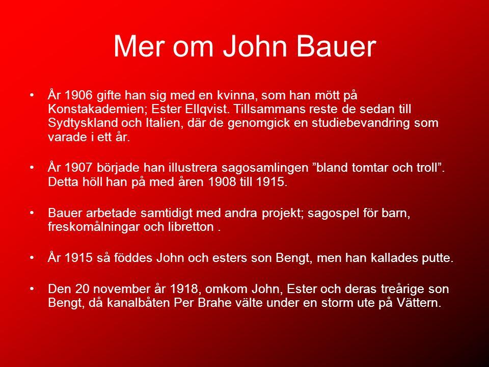 Mer om John Bauer